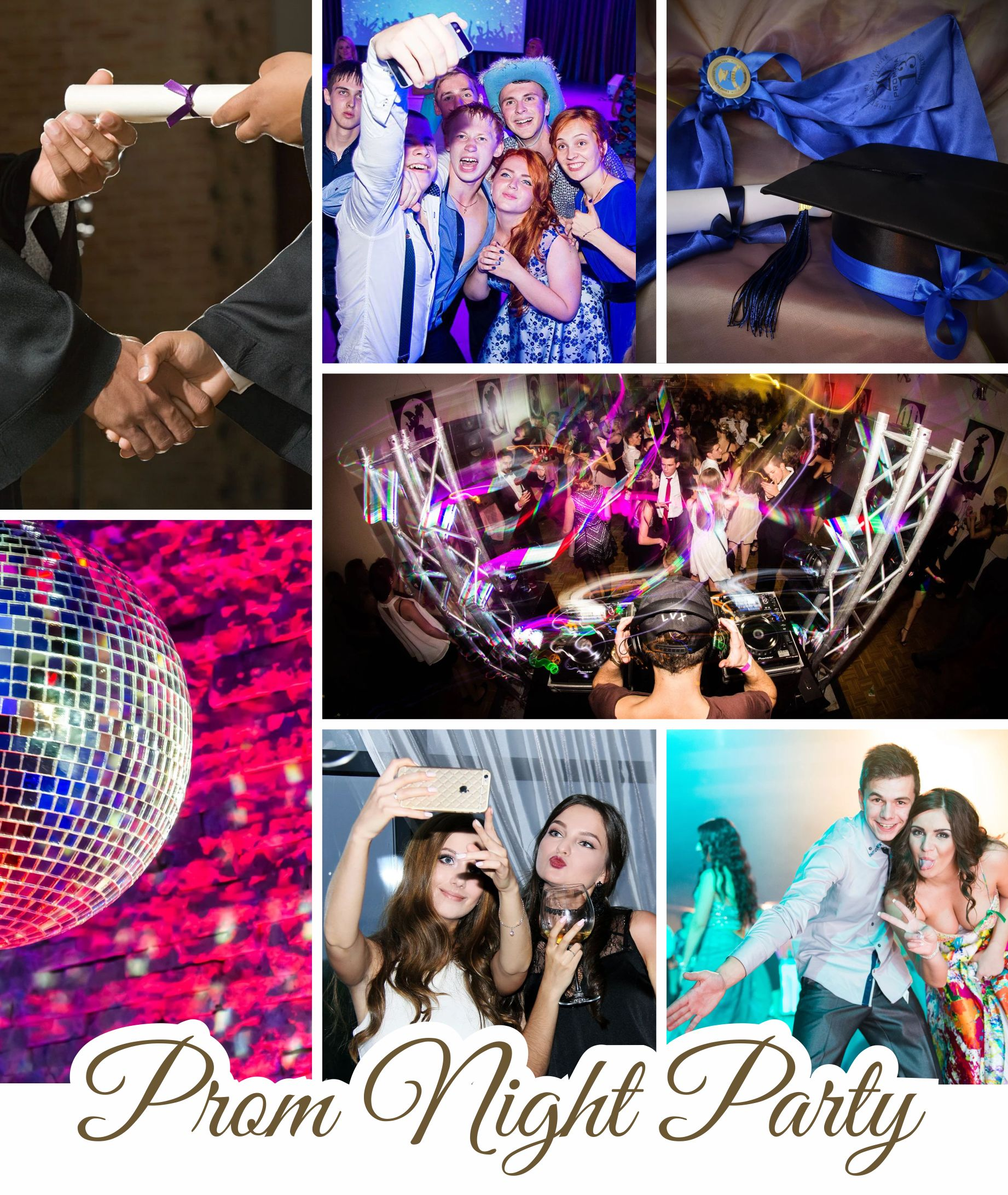 flyer Prom Party